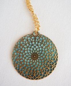 The long life mandala necklace