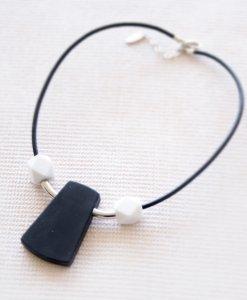 Black Icon Chain Silver