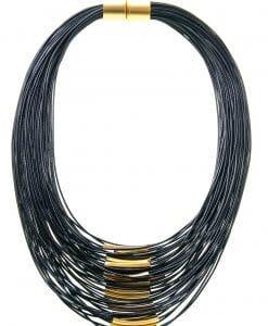 Urban black gold chain