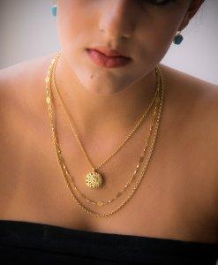 Romantic Triple Necklace